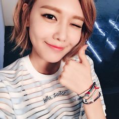 snsd, sooyoung, and girls generation image Sooyoung Snsd, Kim Hyoyeon, Snsd You Think, Yuri, Girl's Generation, Types Of Fashion Styles, Korean Girl Groups, Kpop Girls, Short Hair Styles