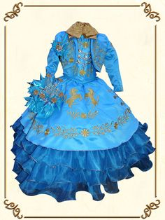 Little Girl Dresses, Little Girls, Girls Dresses, Kids Party Wear Dresses, Charro, Quinceanera, Victorian, Disney Princess, How To Wear