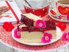 Izabela w kuchni: Gotowany sernik na herbatnikach z wiśniami. Tiramisu, Cheesecake, Pudding, Ethnic Recipes, Cook, Cheesecakes, Custard Pudding, Puddings, Tiramisu Cake