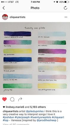 This would be cool if someone with synesthesia did this <<< Yeeeeessssss