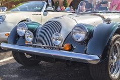 https://flic.kr/p/uet5h2 | 1995 Morgan | Photo taken of a 1995 Morgan with a V8. This was at the Coffee and Cars carshow in Oklahoma City.