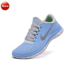 8795947bd14a Nike Free Run Womens Prism Blue Reflective Silver sail Running Shoes