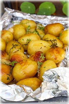 Pretzel Bites, Potato Salad, Tapas, Grilling, Food And Drink, Cooking Recipes, Dinner, Baking, Vegetables