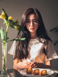 Imagine girl, ulzzang, and asian Ulzzang Girl Fashion, Ulzzang Korean Girl, Foto Portrait, Portrait Photography, Korean Photography, Korean Beauty, Asian Beauty, Bora Lim, Uzzlang Girl