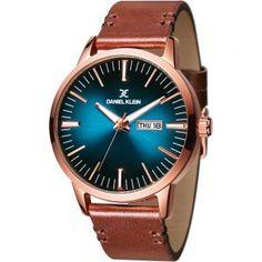 Ceas Daniel Klein Premium DK11304-7 Daniel Klein, Smart Watch, Watches, Leather, Smartwatch, Wristwatches, Clocks