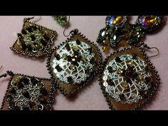 DIY - TUTORIAL Ciondolo Dioniso con superduo, perle e rocailles - YouTube