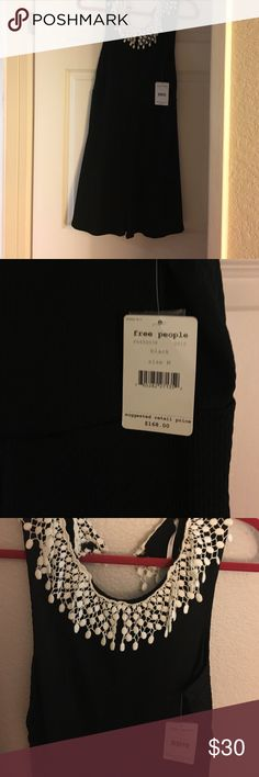 Free People Dress Really cute free people dress with a low scoop back. Never worn brand new with tags. Size Medium. Free People Dresses Mini