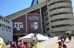 Kyle Field A&m Football, Football Season, Kyle Field, All Hero, Texas A&m