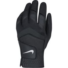 Premium goatskin for the thumb and palm of this mens dura feel VIII golf glove by Nike provide exceptional grip and optimal feel and durability!