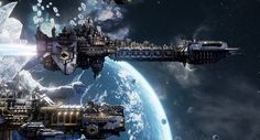 Battlefleet Gothic: Armada is the RTS adaptation for PC of Games Workshop's tabletop game, staging the deadly space battles of Warhammer Warhammer 40k Memes, Warhammer Art, Warhammer Fantasy, Warhammer 40000, Space Marine, Battlefleet Gothic Armada, Battle Fleet, Ultramarines, Fantasy Battle