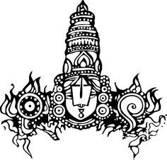 Lord Narasimha Swamy Sketch