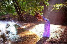 "lake by *ormeli  Disney's ""Hercules"", Megara :)  Tried to recreate the moment of the cartoon."