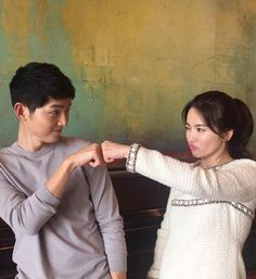 Did Song Joong Ki Song Hye Kyo reveal relationship? The two actors have kept their silence on their relationship. Korean Actresses, Korean Actors, Actors & Actresses, Korean Dramas, Song Joong Ki, F4 Boys Over Flowers, Decendants Of The Sun, Les Descendants, Song Hye Kyo Descendants Of The Sun