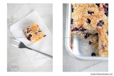 Taylor Takes a Taste: Lemon Blueberry Buckle. I even love the name of it.