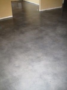 Rustic Gray Concrete Floor