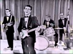 Buddy Holly   Peggy Sue  1950  First time I heard Buddy sing was several years after his death. My brother had the record and I swiped it, still have it. I was into the Beatles and the Stones, but Buddy was a hold different can of beans.  Love that sound.