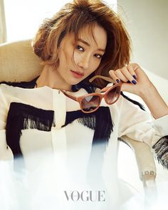 Go Joon Hee - Vogue Magazine May Issue '15 Vogue Korea, Korean Beauty, Asian Beauty, Hyun Seo, Korean Actresses, Best Model, Vogue Magazine, Actor Model, Fashion Pictures