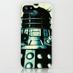 DOCTOR WHO SERIES / DALEK iPhone & iPod Case by Steal This Art - $35.00