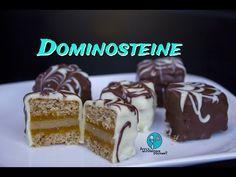 Dominosteine - schnell und einfach selbstgemacht [backvideo] - YouTube Mango, Cheesecake, Pudding, Advent, Sweet, Desserts, Christmas, Foods, Drinks