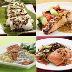 Like fish? Here are some healthy 500-Calorie Dinner Menus to try. Whether you like tuna, salmon or any fish in between we have a 500-Calorie Dinner menu for everyone. @EatingWell