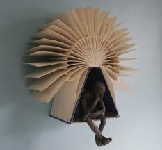 folded book art - Google Search