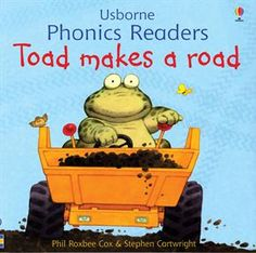 "One of the original books in the Usborne Phonics Readers Series,""Toad Makes a Road,"" is still available as a separate title as well as included in ""Ted and Friends,"" the combined volume of the first twelve phonics books published and illustrated by Stephen Cartwright."
