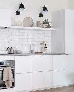 Home tour: Molge Decor Double Vanity, House Tours, Villa, Kitchen Cabinets, Bathroom, Instagram, Home Decor, Interior, Kitchen