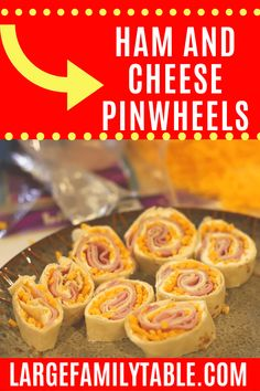 Ham and cheese pinwheels are fantastic to have in your freezer for a quick snacky lunch. Super easy to make, cook, and eat. Best Freezer Meals, Freezer Cooking, Freezer Recipes, Snowcream Recipe, Ham And Cheese Pinwheels, Cooking Challenge, Deli Ham, Healthy Breakfast Options, Banana Chocolate Chip Muffins