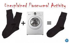 Organizing humor, missing socks in the laundry