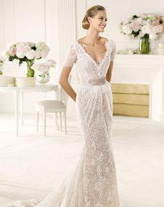 Spanish Wedding Dress Designer P 78