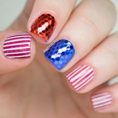 'Murica! Fourth of July Nail Art