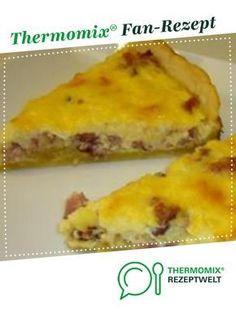 Quiche Lorraine von Thermomix Rezeptentwicklung. Ein Thermomix ® Rezept aus der Kategorie Backen herzhaft auf www.rezeptwelt.de, der Thermomix ® Community.