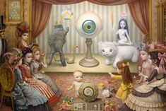 The Parlor ~ Allegory of Magic, Quintessence, and Divine Mystery