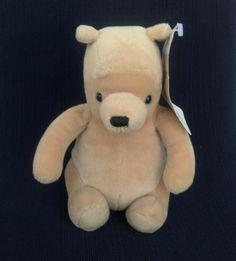 "Classic Pooh Plush Gund Disney Winnie 7"" Tall Sitting New Tag Stuffed Animal | eBay"