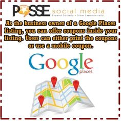 Need to learn more about Google Places? Get our FREE guide: http://the-posse.us/GD