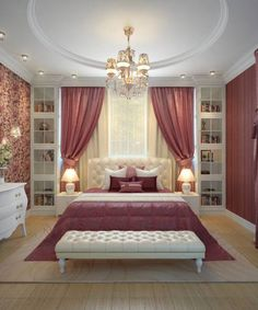 Browse images of classic Bedroom designs by design studio by Mariya Rubleva. Fin… Browse images of classic Bedroom designs by design studio by Mariya Rubleva. Find the best photos for ideas & inspiration to create your perfect home. Home Room Design, Room Design, Luxury Bedroom Design, Bedroom Makeover, Girl Bedroom Designs, Luxurious Bedrooms, Stylish Bedroom, Room Decor Bedroom, Classic Bedroom