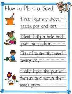 KINDERGARTEN EXPOSITORY WRITING (COMMON CORE ALIGNED) HOW TO WRITING - TeachersPayTeachers.com$