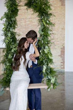 Rachel & Tanner | Wedding – Bladh Photography Kiss me on a swing set