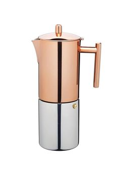 Le'Xpress Copper Finish Stovetop Espresso Maker in cafetieres and coffee pots at Lakeland Best Espresso, Espresso Maker, Espresso Coffee, Espresso Machine, Coffee Cups, Coffee Set, Coffee Machine, Coffee Maker, Espresso