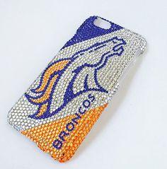 Denver Broncos bling case Bling iPhone 6 case / by BlingAttack