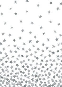 From society6 stars silver art print by kind of style stars silver by