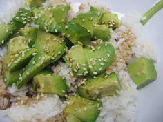 No Roll Vegan Sushi