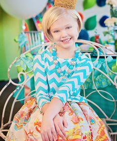Love this Teal Lula Tee - Toddler & Girls on #zulily! #zulilyfinds