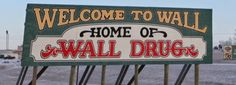 Learn about the little city of Wall, South Dakota, home to the infamous Wall Drug Store and neighbor to the Badlands National Park Badlands National Park, National Parks, Wall Drug, South Dakota Travel, Custer State Park, Tourist Sites, Rapid City, Park City, Road Trip