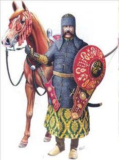 Sipahi, or cavalry soldier, Ottoman Empire. Costume Français, Turkey History, Zombie Army, Ottoman Turks, Military Costumes, Turkish Army, Ottoman Empire, Medieval Fantasy, Military History