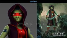 Create your 3D Lotha Warrior Creature Character #Modelling and #Texturing with GameYan