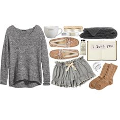 hanging around the house by vv0lf on Polyvore