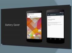 Battery Saver Mode of Android L