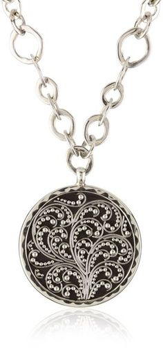 """""""Classics"""" Two Sided Pendant Lemon Chain #Necklace by Lois Hill #jewelry"""