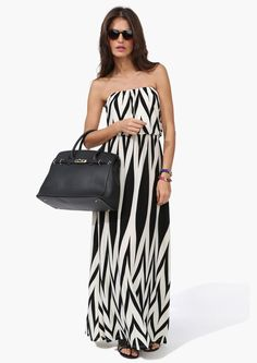 Chevron Maxi Dress | Shop for Chevron Maxi Dress Online